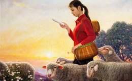 朝鲜油画人物作品欣赏,朝鲜油画人物作品图片赏析
