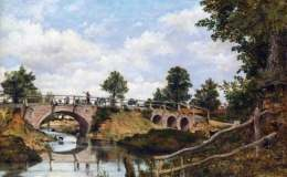 欧洲油画风景精选作品,欧洲油画风景作品图片欣赏