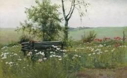俄罗斯油画风景作品欣赏,俄罗斯油画风景图片赏析