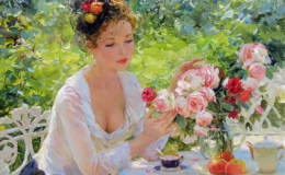 俄罗斯油画人物作品欣赏,俄罗斯油画人物图片鉴赏