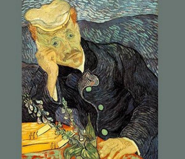 梵高油画高清图片欣赏,梵高十大名画作品图片欣赏
