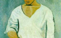 毕加索油画作品欣赏解析,毕加索油画作品图片大全