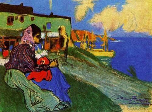 毕加索油画高清图片欣赏,毕加索油画作品图片鉴赏