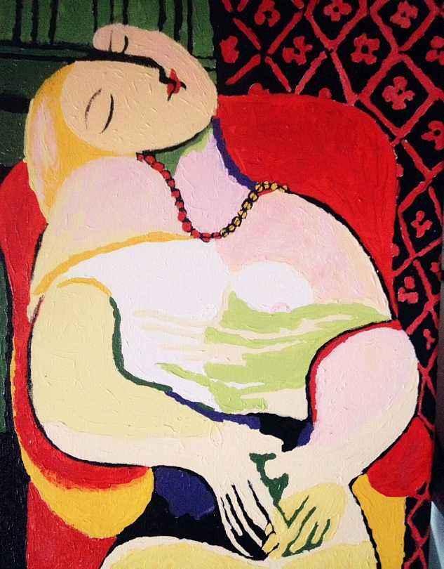 毕加索油画作品赏析,毕加索油画作品图片