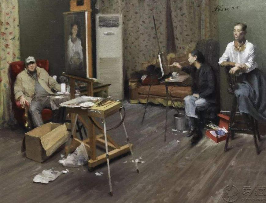冷军油画作品欣赏,冷军油画作品图片赏析
