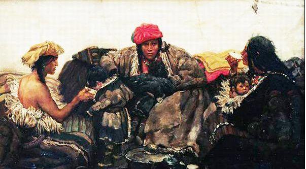 陈丹青油画高清大图,陈丹青油画作品鉴赏