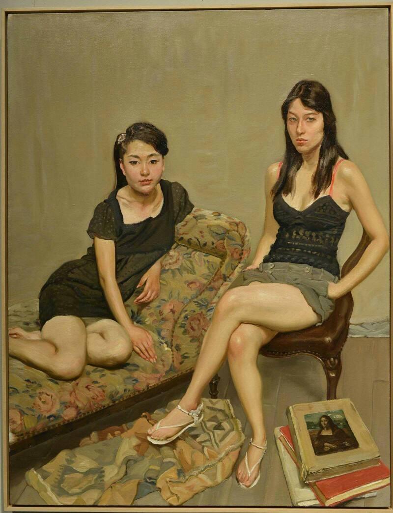 陈丹青油画作品欣赏