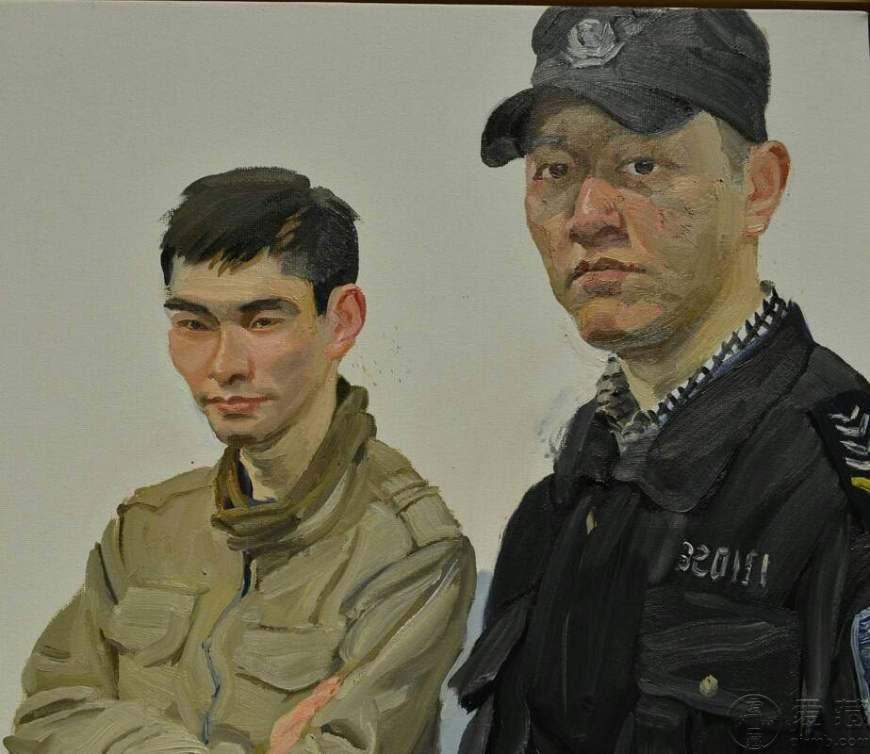 陈丹青油画作品欣赏,陈丹青油画图片大全