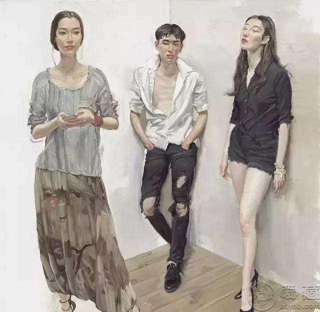 陈丹青油画人物作品欣赏,陈丹青油画人物作品图片