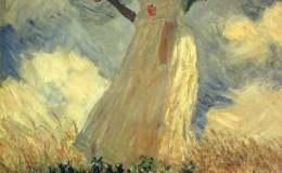 莫奈油画作品欣赏,莫奈油画作品图片
