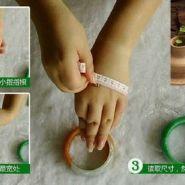 翡翠手镯尺寸对照表 怎么计算自己戴多大的手镯