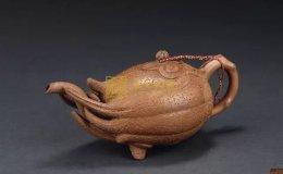 紫砂器型之佛手壺,蔣蓉佛手壺圖片