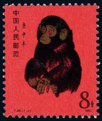 80版猴票單張最新價格   80版猴票市場價值