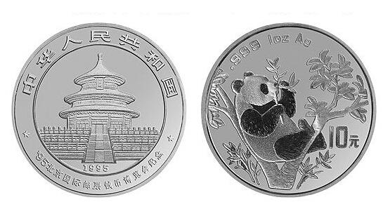 熊貓銀幣10元最新價格   熊貓銀幣10元投資分析
