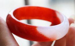 红翡翠手镯图片 红翡翠手镯值钱吗