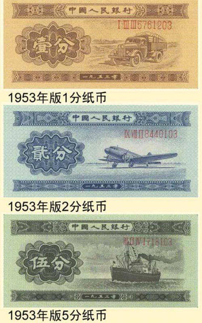 1953年人民币值多少钱?1953年人民币价格表