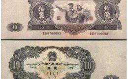 老式10元紙幣值多少錢?老式10元紙幣收藏價格表