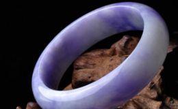 紫罗兰糯种翡翠手镯 糯种紫罗兰翡翠手镯多少钱