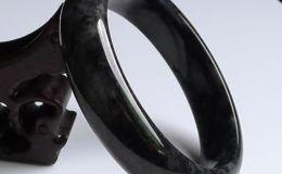 黑翡翠手镯 黑翡翠手镯价格及图片