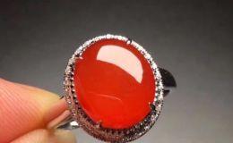 红色翡翠戒指 红色翡翠戒指价格及图片大全