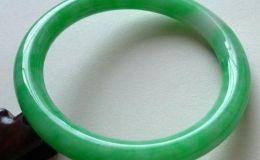 正阳绿翡翠手镯价格 阳绿翡翠手镯多少钱一个