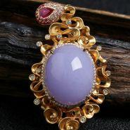 翡翠带紫色好吗 翡翠带紫色价格贵吗