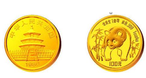 1986年熊猫金币价格 1986年熊猫金币最新市场价
