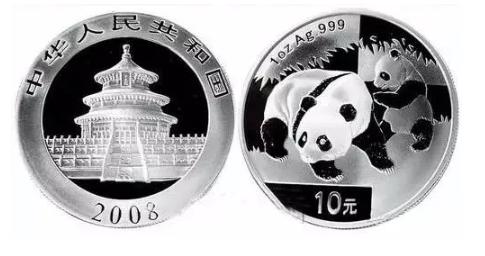 熊猫银币价格多少钱一枚