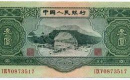 三元的人民币收购价格 一张三的元人民币价值多少