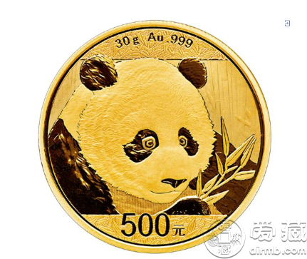 2018年熊猫30克金币现在值多少钱一枚最新价格