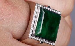 男士翡翠戒指图片 男士翡翠戒指多少钱一个