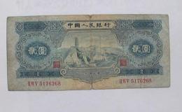 1953年二元钱纸币值多少钱   1953年二元钱纸币介绍及价格