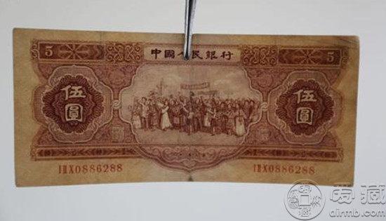 1953年5块纸币值多少钱   1953年5块纸币市场价格