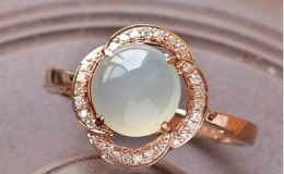 玻璃种翡翠戒面市场价 玻璃种翡翠戒面多少钱一个及图片