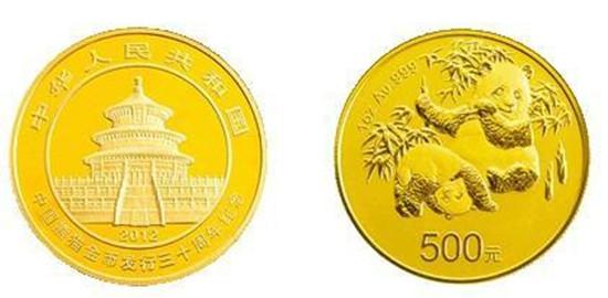 2012年熊猫金币套装回收价格 2012年熊猫金币投资价值