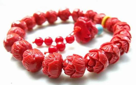 女性戴红珊瑚的作用_最新价格
