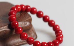 红珊瑚手链的鉴别方法 红珊瑚手链图片介绍