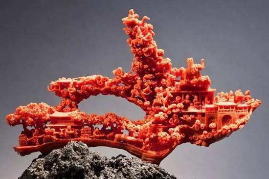 红珊瑚图片 红珊瑚作用及功效
