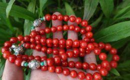 红珊瑚手串图片    红珊瑚手串的价格