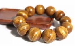 金絲楠木珠子 金絲楠木珠子盤活后會是什么顏色