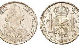 西班牙双柱银元300万  国内好不好出手