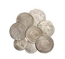 新疆光绪银元一钱  新疆省造银元值钱吗