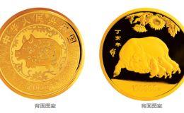 2007中國丁亥(豬)年金銀紀念幣10公斤圓形金質紀念幣
