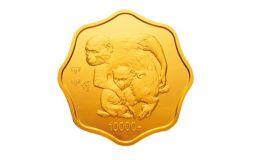 2004中国甲申(猴)年金银纪念币1公斤梅花形金质纪念币介绍