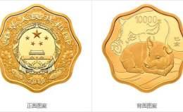 2019中國己亥(豬)年金銀紀念幣1公斤梅花形金質紀念幣