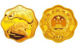 2009中国己丑(牛)年1公斤梅花形纪念金币