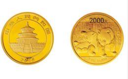 2010版熊猫金银纪念币5盎司金质纪念币