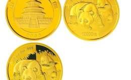 2008版熊貓金銀紀念幣1盎司圓形金質紀念幣