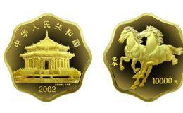 2002年1公斤生肖马梅花金币价格