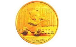 2014版熊貓金銀紀念幣1盎司圓形金質紀念幣